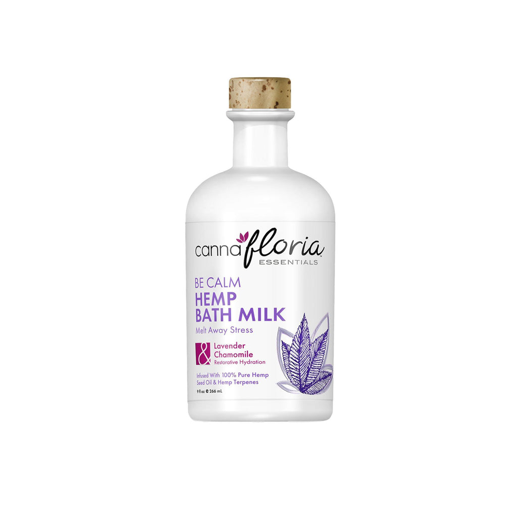 Cannafloria Hemp Bath Milk