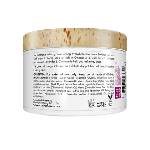 Image of Cannafloria Hemp Sugar Scrub