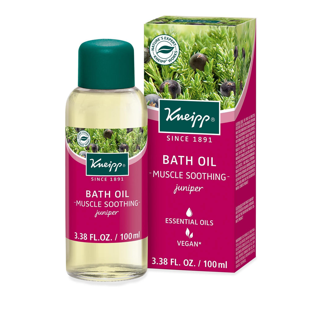 KNEIPP | Juniper Bath Oil For Muscle Soothing