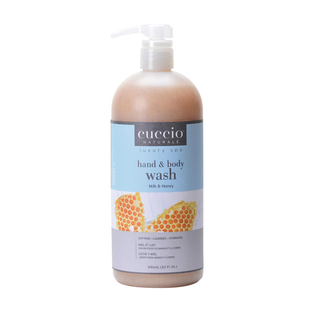 Bath & Body Milk & Honey / 32oz Cuccio Body Wash