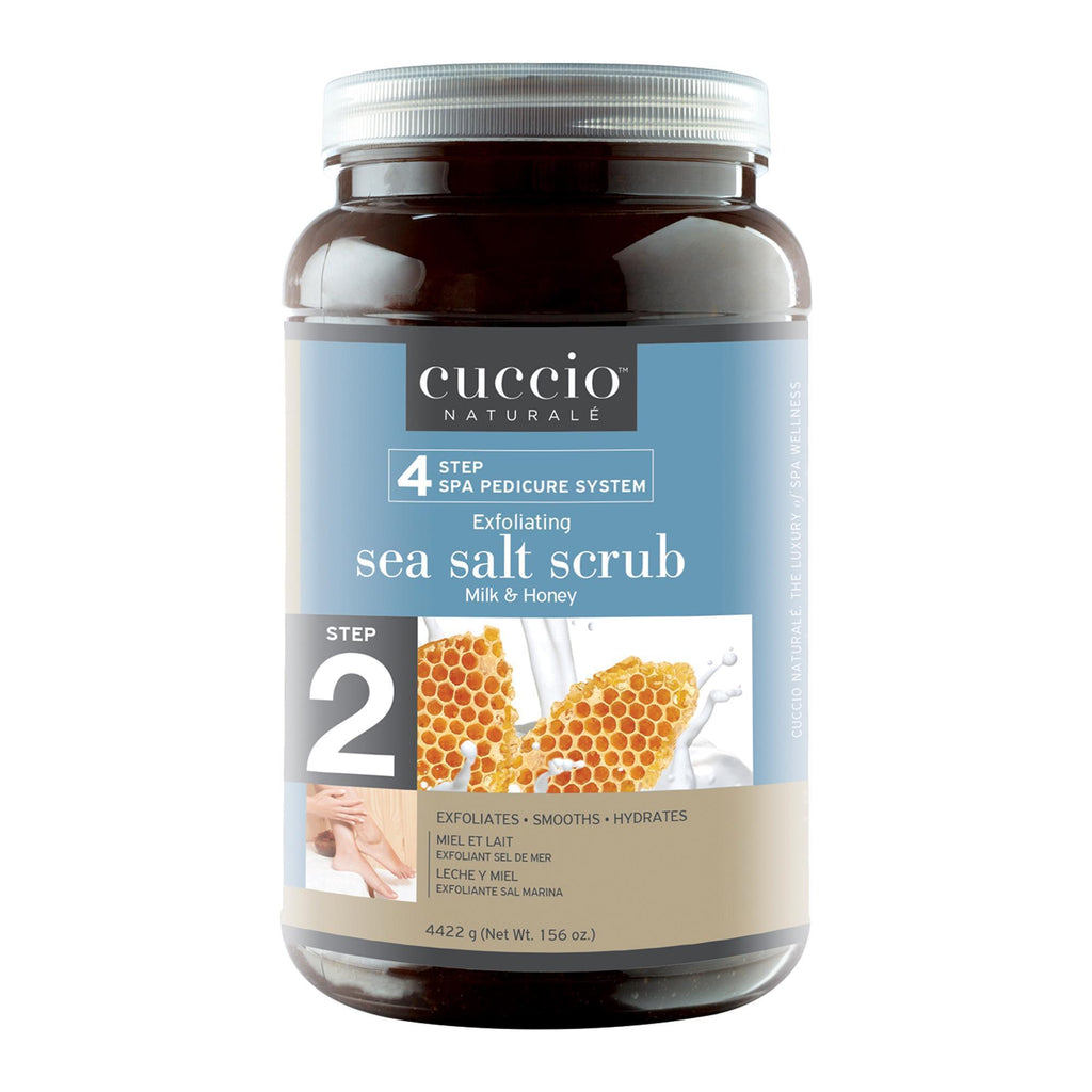 Bath & Body Milk & Honey / 78oz Cuccio Pedicure Sea Salt Exfoliant