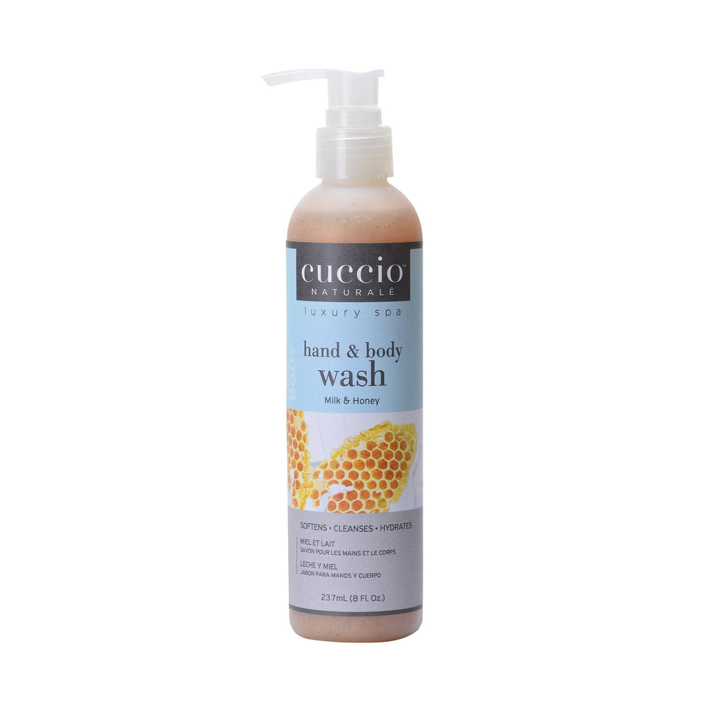 Bath & Body Milk & Honey / 8oz Cuccio Body Wash