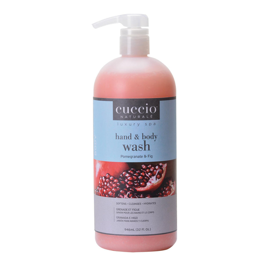 Bath & Body Pomegranate & Fig / 32oz Cuccio Body Wash