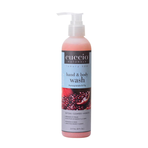 Image of Bath & Body Pomegranate & Fig / 8oz Cuccio Body Wash