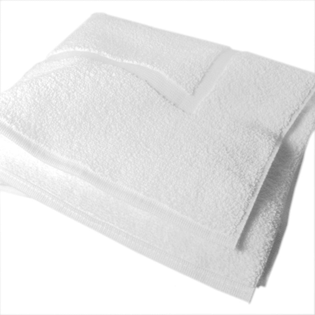 "Bath Mats & Bath Sheets Heavy Duty Bath Mat / Cotton / White / 25""x30"""
