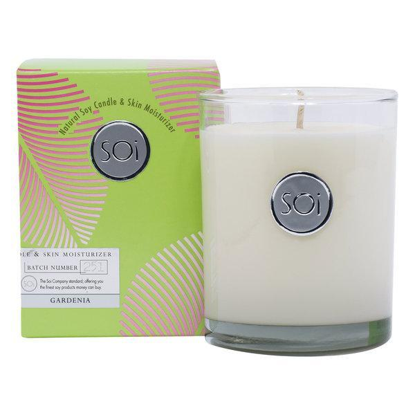 Candles Aqua de Soi Gardenia Luxe Box Candle