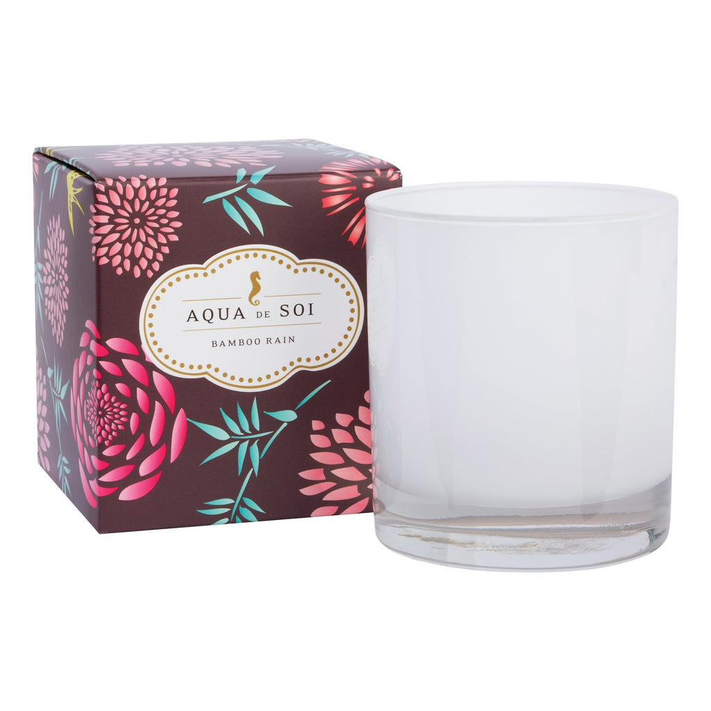 Candles Aqua de Soi Bamboo Water Lily Boxed Candle