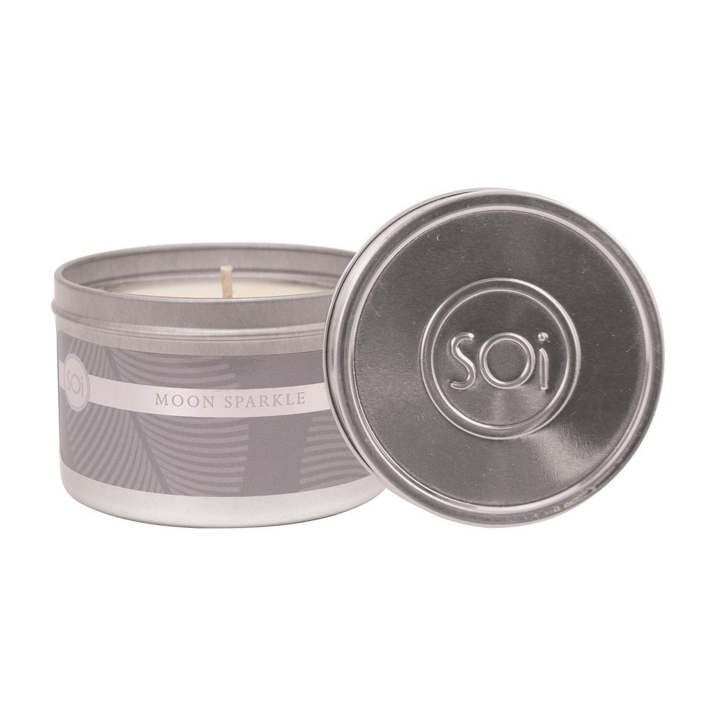 Candles Aqua de Soi Moon Sparkle 8 oz Travel Tin Candle