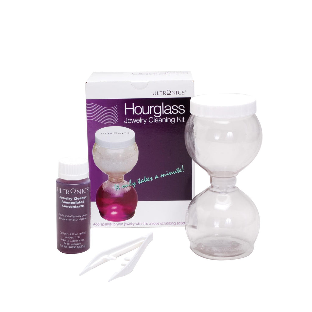 Cleansers & Removers Ultronics Hourglass Jewelry Cleaning Kit