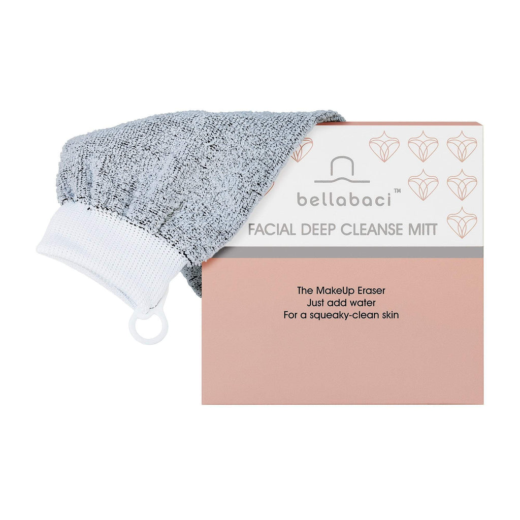 Cleansers & Removers Bellabaci Facial Deep Cleanse Pro Facial Mitt