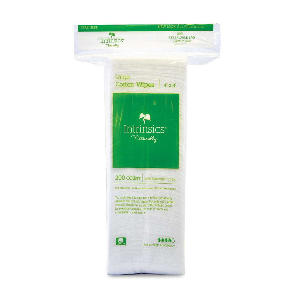Cotton & Gauze Products 4 x 4 Intrinsics Cotton Esthetic Wipes
