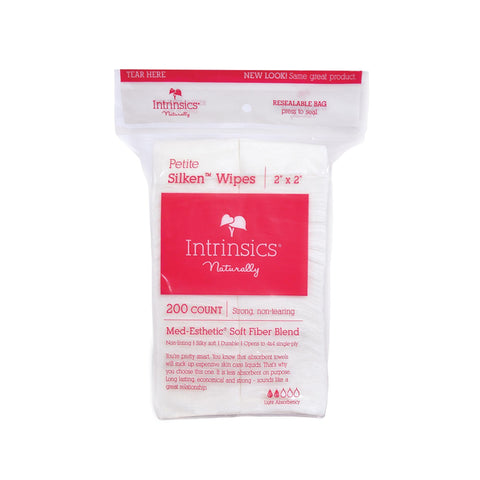 Cotton & Gauze Products Intrinsics Silken Esthetic Wipes