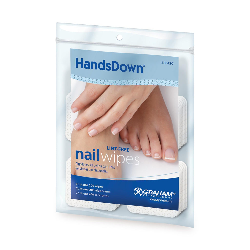 Cotton Supplies & Wipes HandsDown Nail Wipes