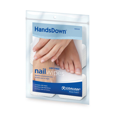 Image of Cotton Supplies & Wipes HandsDown Nail Wipes