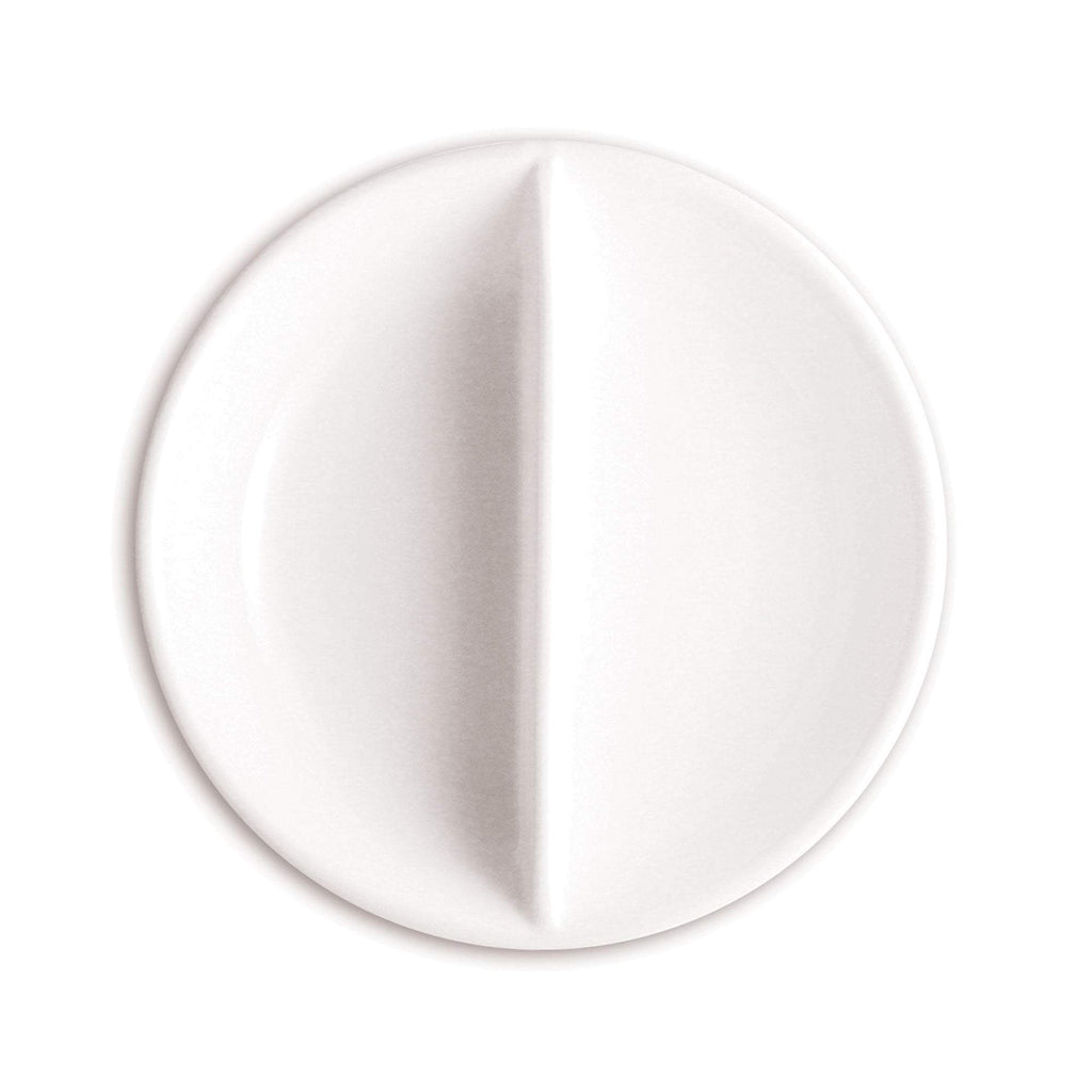 Dishes, Cups & Bowls Small FOH Porcelain Divided Dish