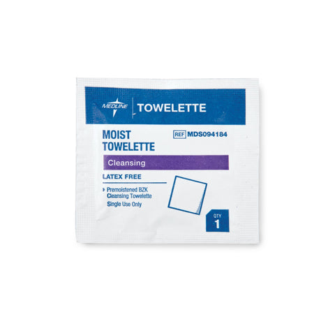 Image of Disinfectant Wipes & Sprays Antiseptic Towelettes / 100pc