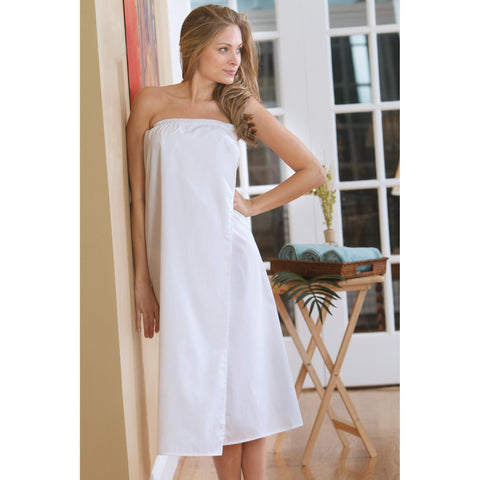 Image of Disposable Linens & Apparel White / X-Large Body Wrap / Poly-Cotton