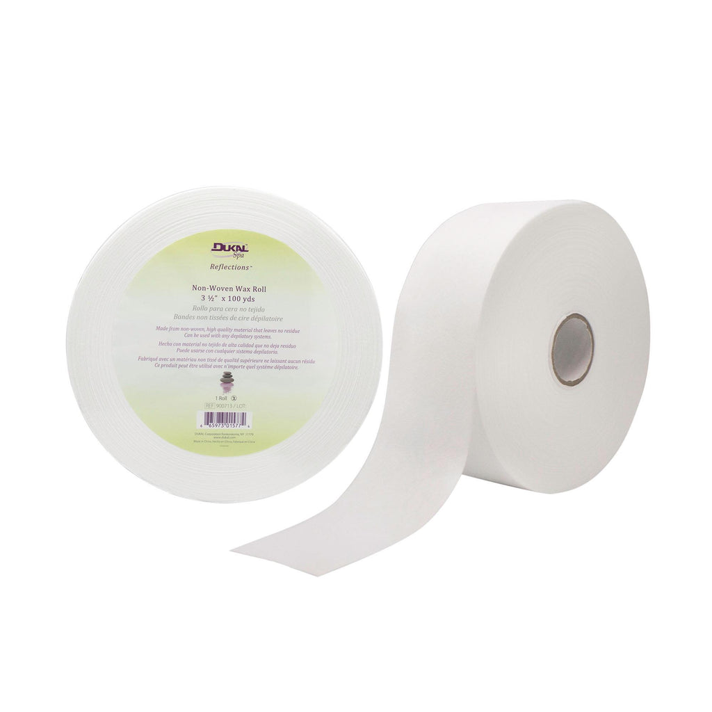 "Epilating Strips & Rolls DUKAL Reflections™ Non-Woven Waxing Roll, 3-1/2"" x 100 yds - 1 Pack"