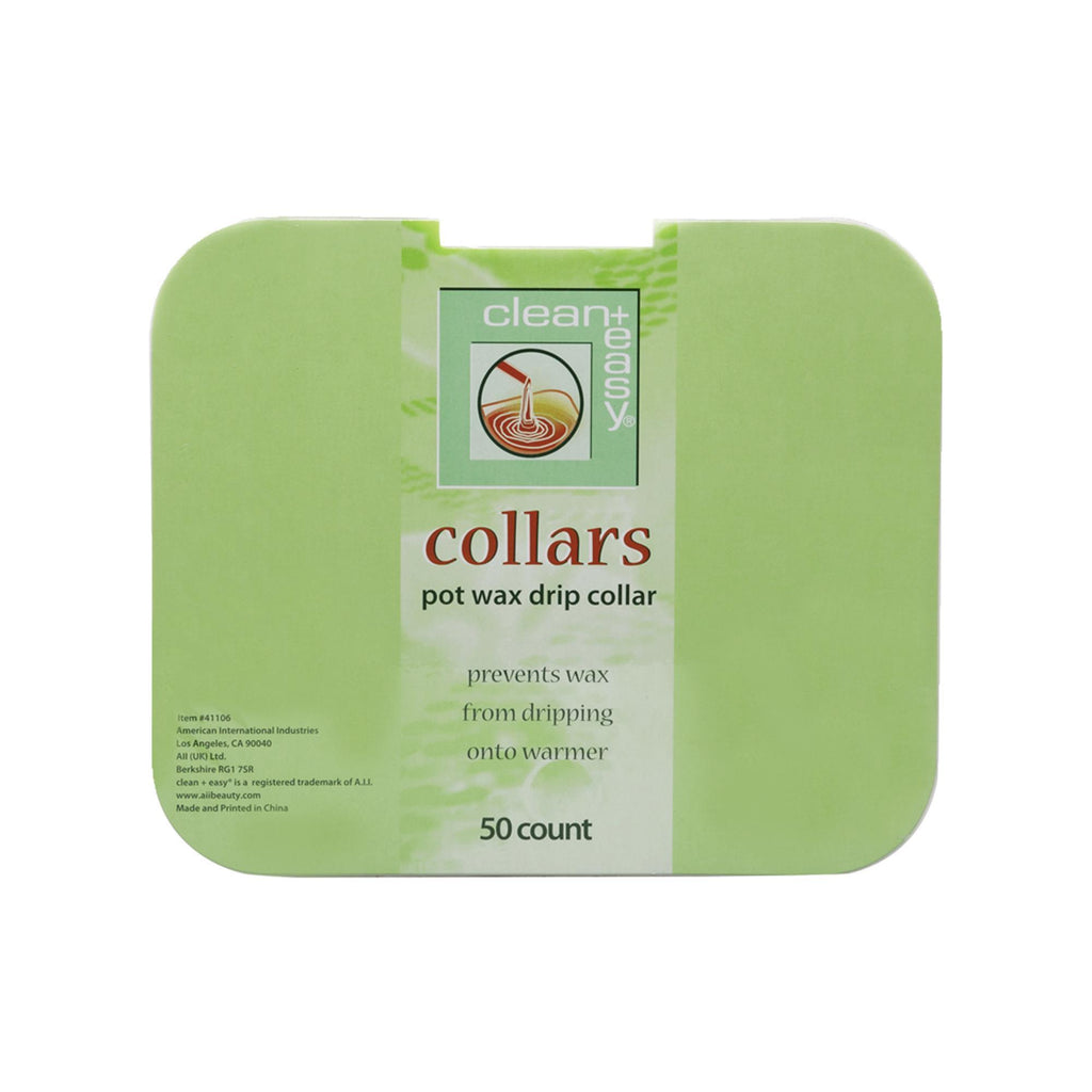 Epilating Warmer Collars & Ins Clean + Easy Collars / Square / 50pk