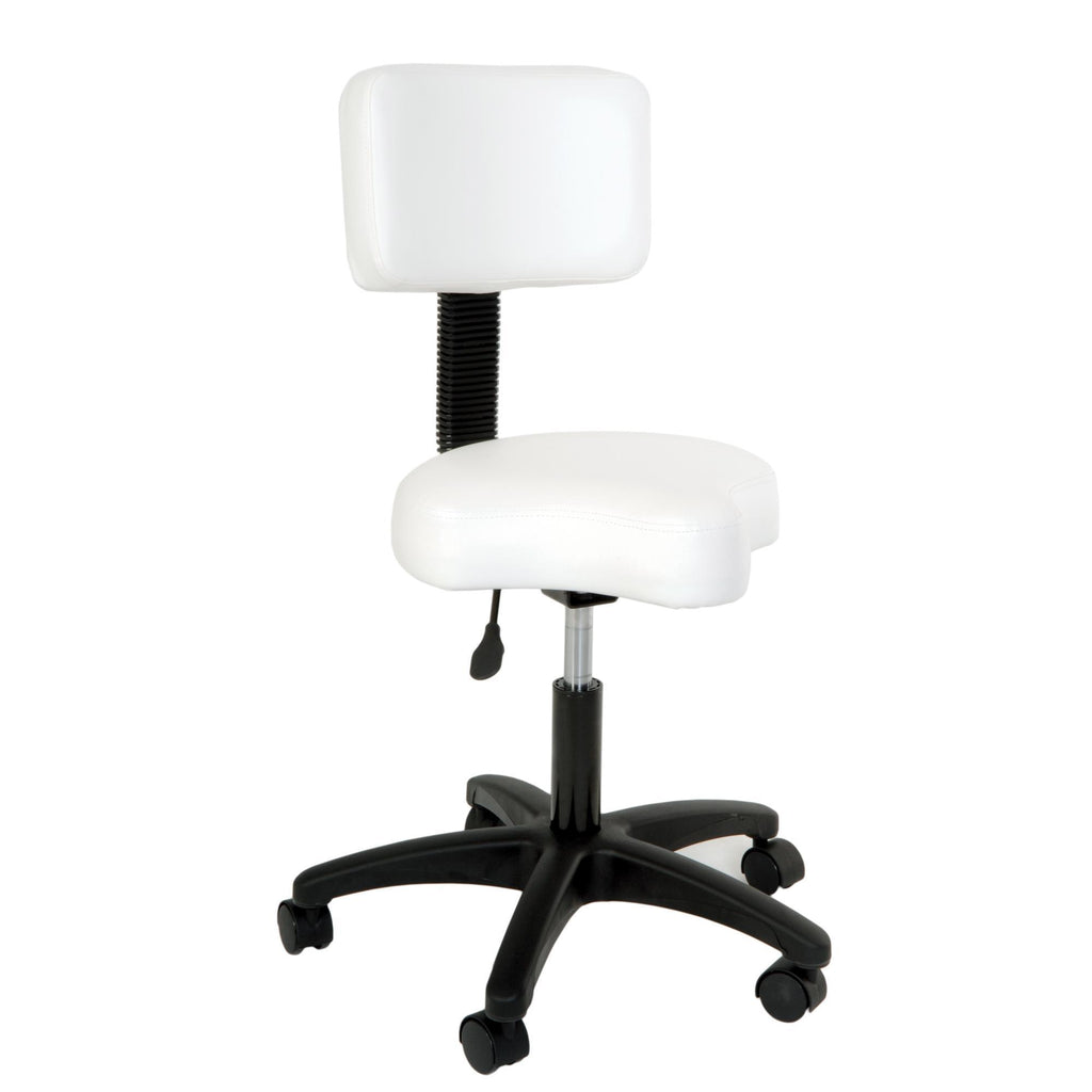 Esthetic Tables & Chairs Silhouet-Tone Stool with Backrest / Contoured