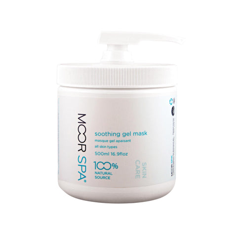 Image of Exfoliants, Peels, Masks & Scr 16.9 floz Moor Spa Soothing Gel Mask 1.8 floz