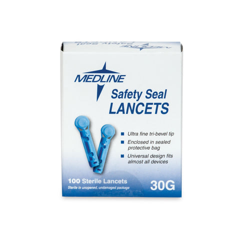 Image of Extractors, Lancets & Needles Plastic Lancets / 100pc