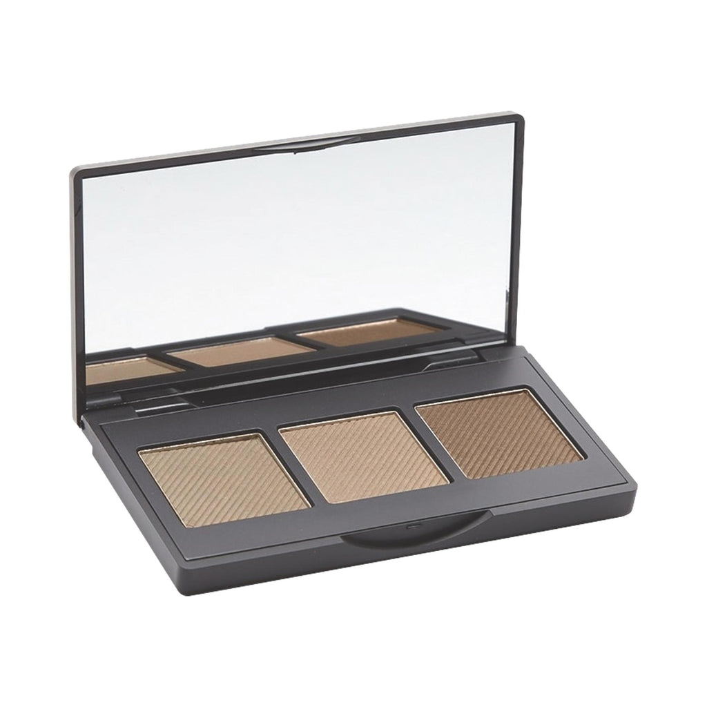 The BrowGal Convertible Brow Powder Pomade Duo, Light Hair
