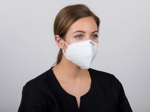 Image of KN95 Disposable Protective Face Mask, 5 Ply, 1 Count, by Dispo Touch