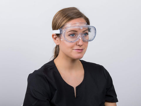Image of Eye Protective Safety Goggles