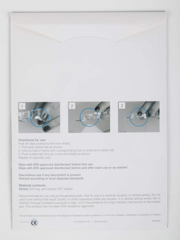 Image of bt-shield Replacement Shields, 4 pk, by Bio-Therapeutic