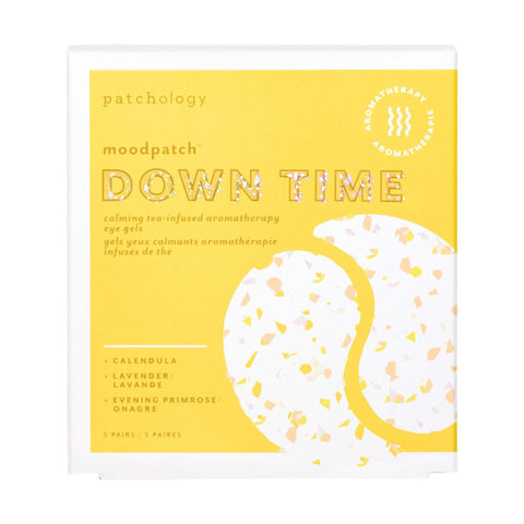 Image of Face Masks & Eyewear Patchology Moodpatch Down Time Calming Tea-Infused Aromatherapy Eye Gels, 5 Pairs