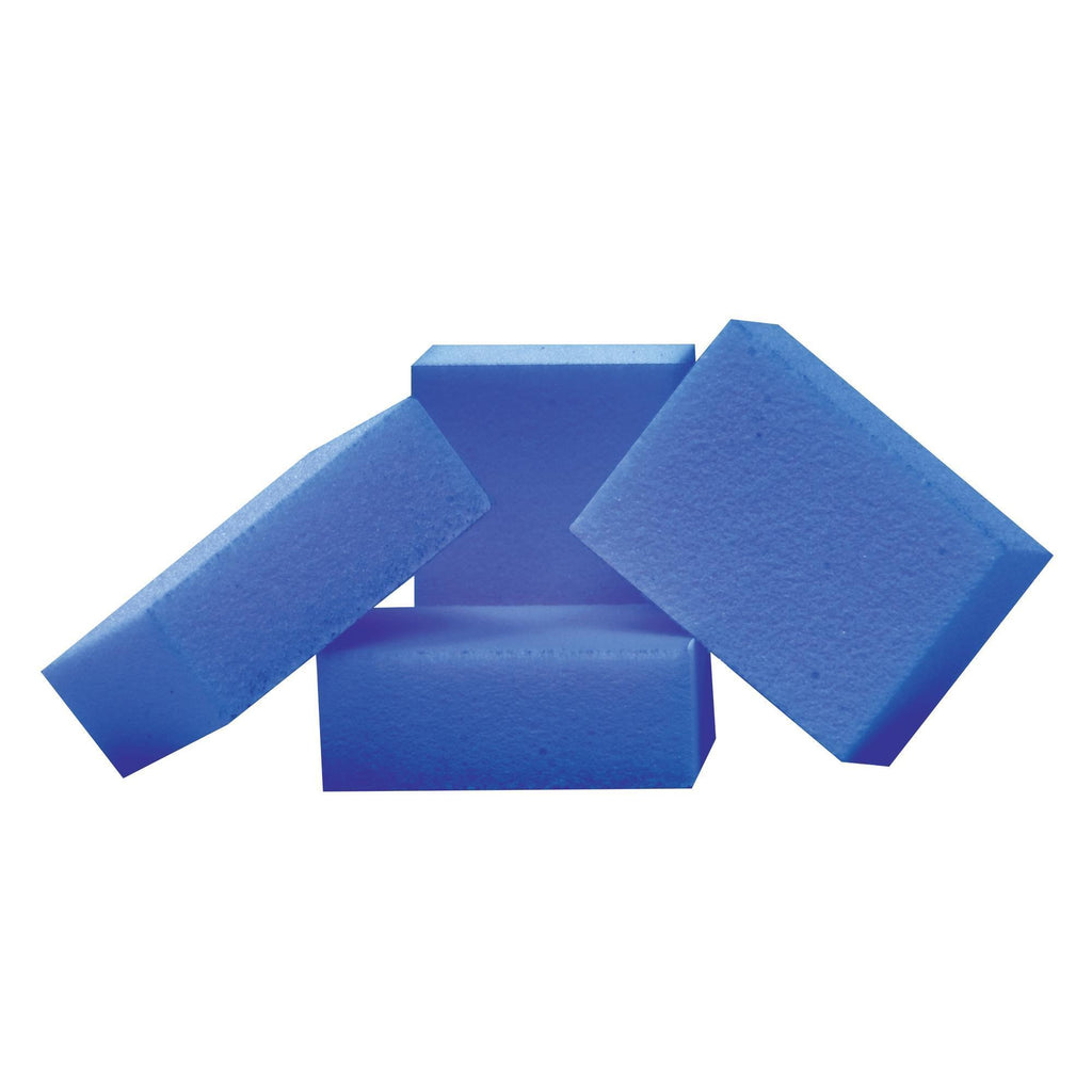 Files, Buffers, Brushes & Pumi Flowery Disposable Buffing Blocks / Mini / 24pc