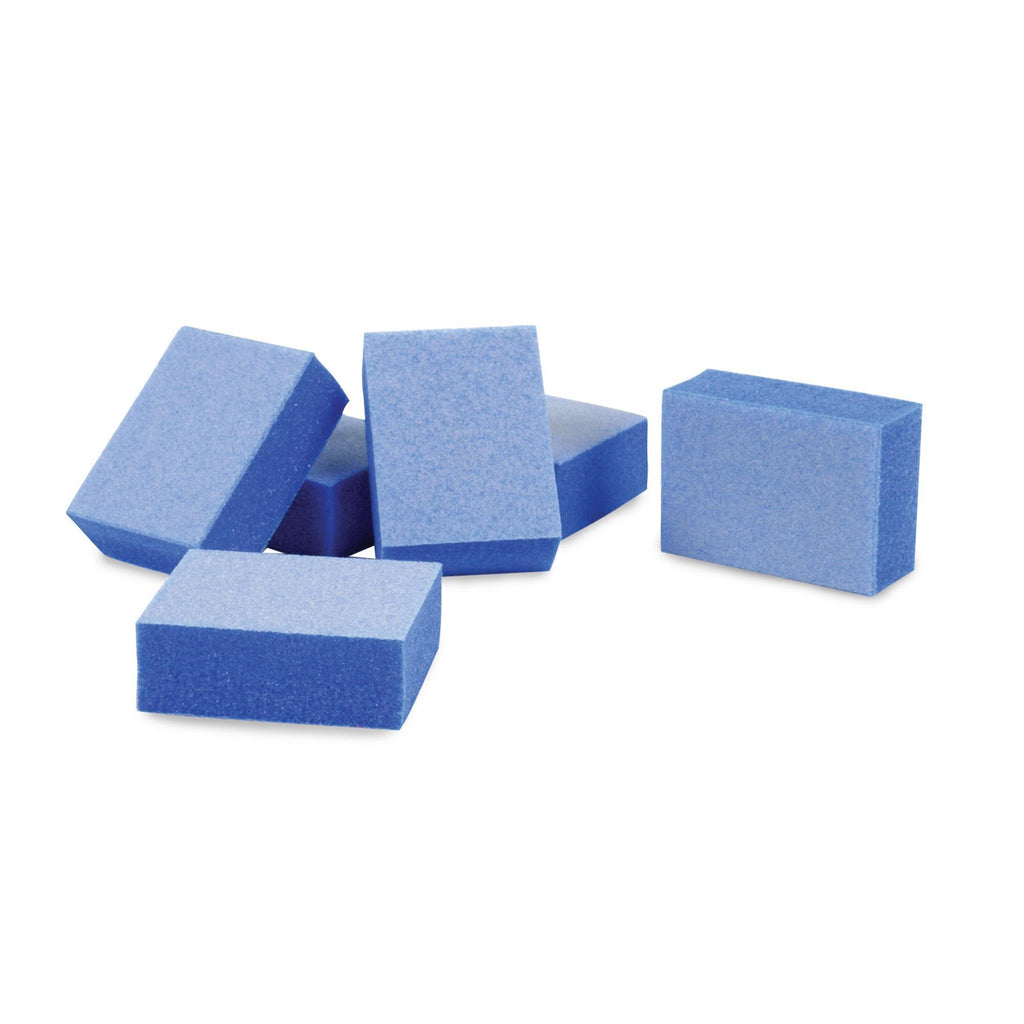 Files, Buffers, Brushes & Pumi Flowery Disposable Buffing Blocks / 100 count