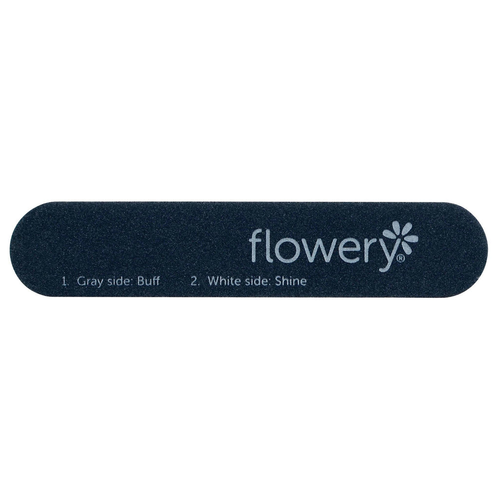 Files, Buffers, Brushes & Pumi Flowery Disposable Files / 5 Second Buffer