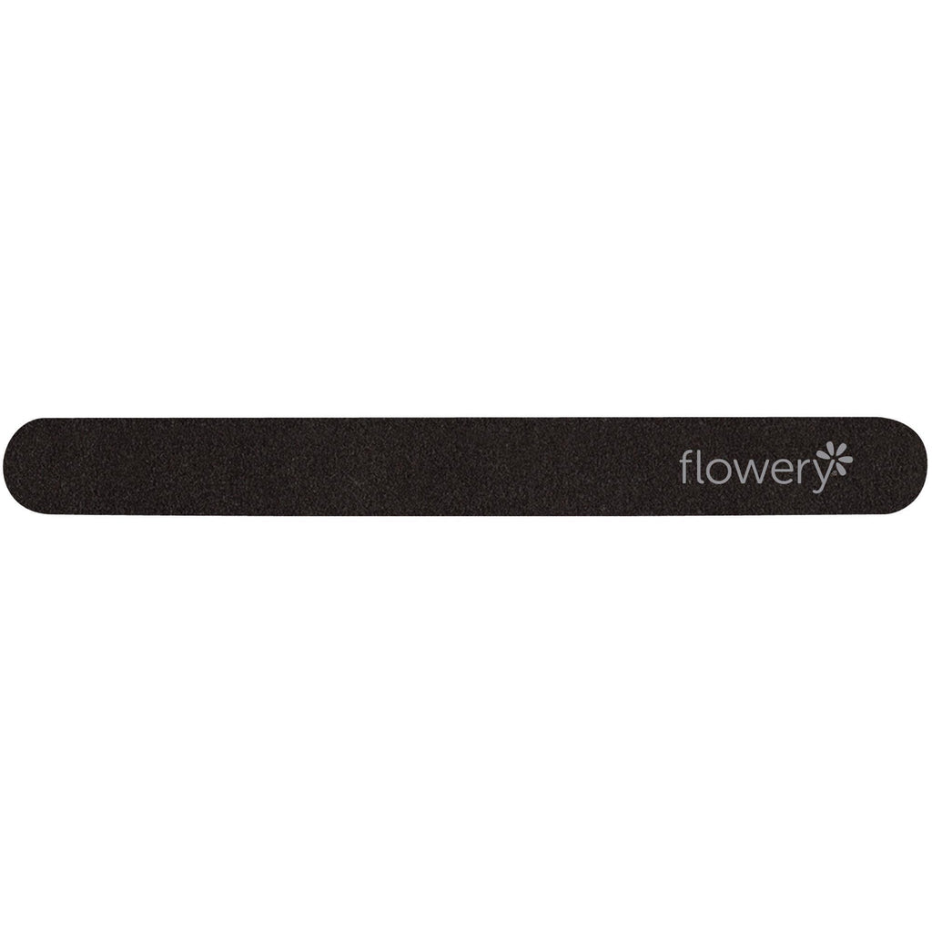 Files, Buffers, Brushes & Pumi Flowery File / Black Beauty / 7""