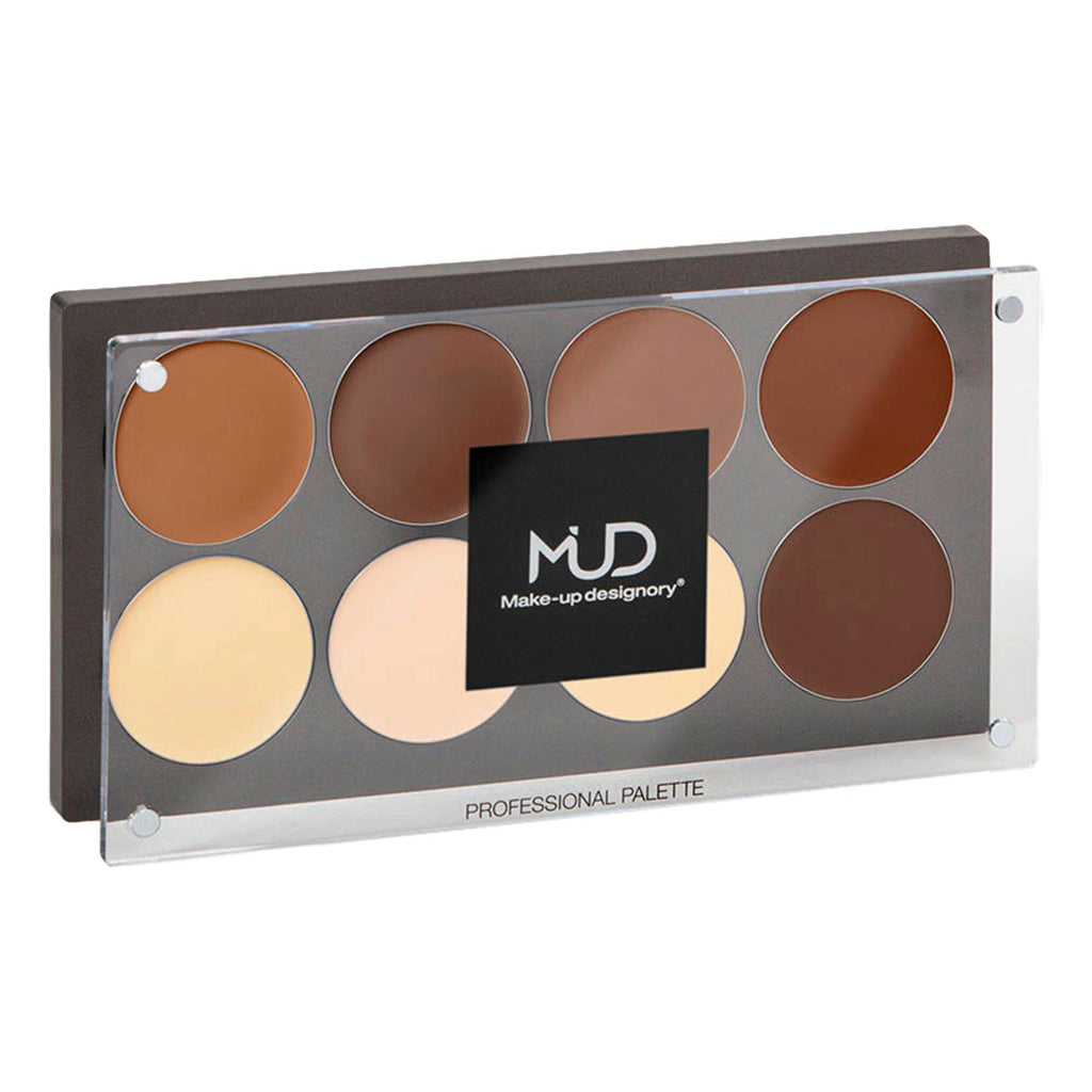 MUD Professional Cream Highlight & Shadow Palette