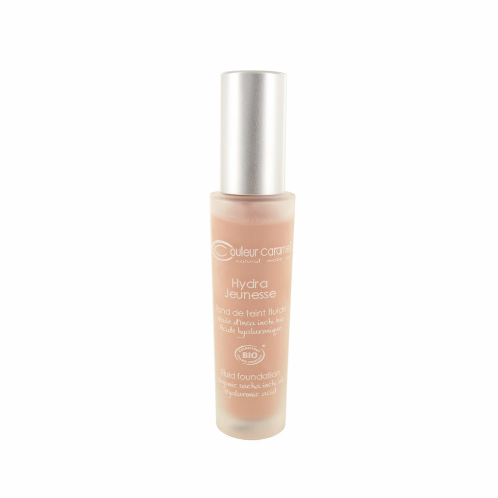 Foundations, Concealers & Prim Couleur Caramel Hydra Jeunesse Fluid Foundation N°25 Ash Blonde Bottle