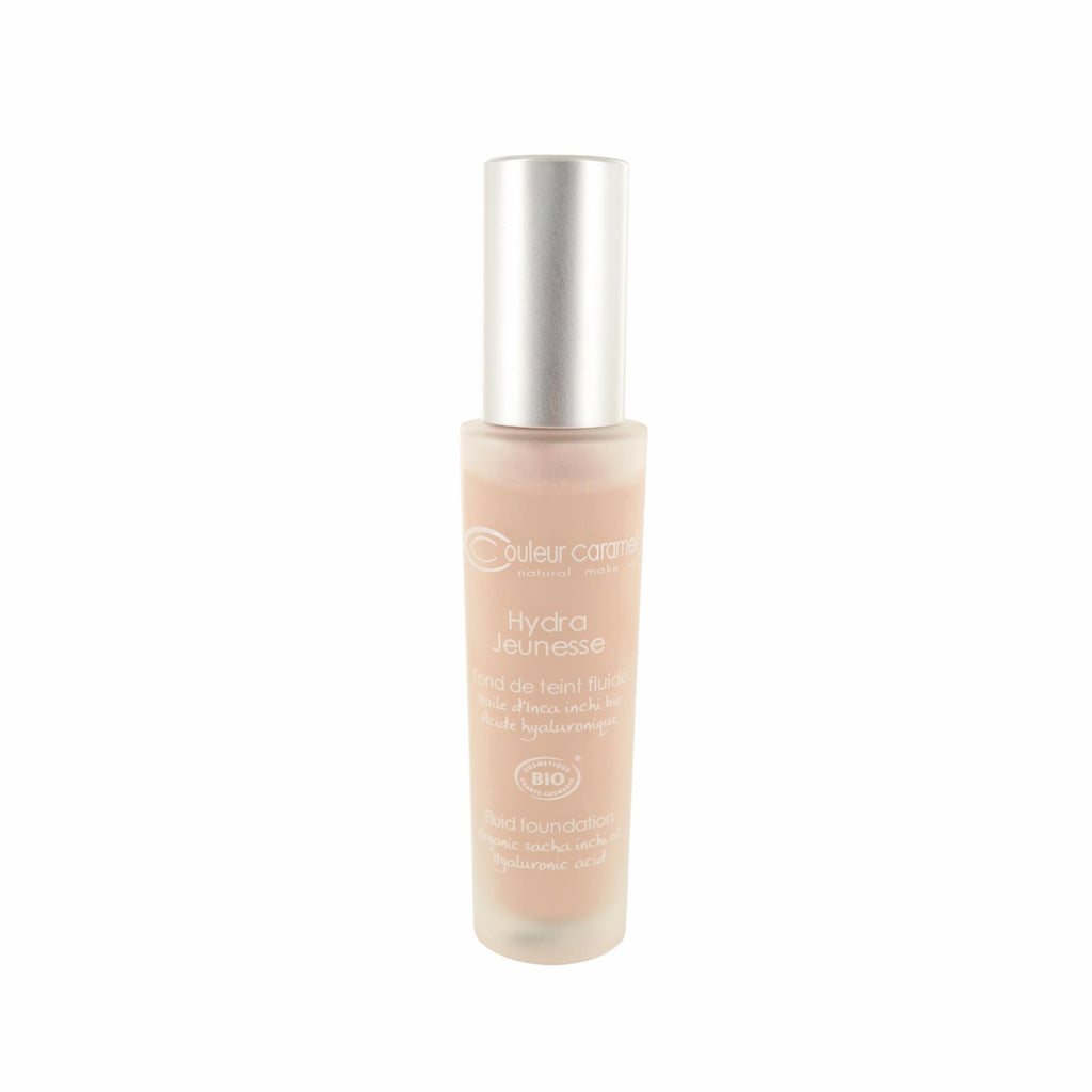 Foundations, Concealers & Prim Couleur Caramel Hydra Jeunesse Fluid Foundation N°21 Porcelain Bottle