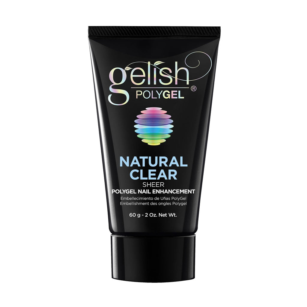 Gel Lacquer Gelish POLYGEL Natural Clear
