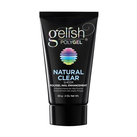 Image of Gel Lacquer Gelish POLYGEL Natural Clear