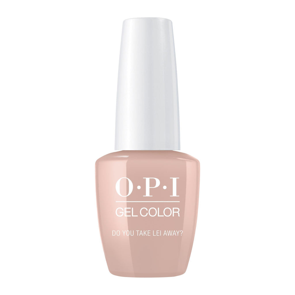 Gel Lacquer OPI Do You Take Lei Away? GelColor