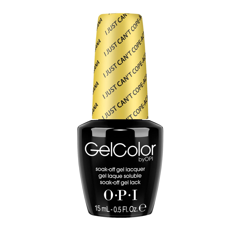 Gel Lacquer OPI I Just Can't Cope-acabana GelColor