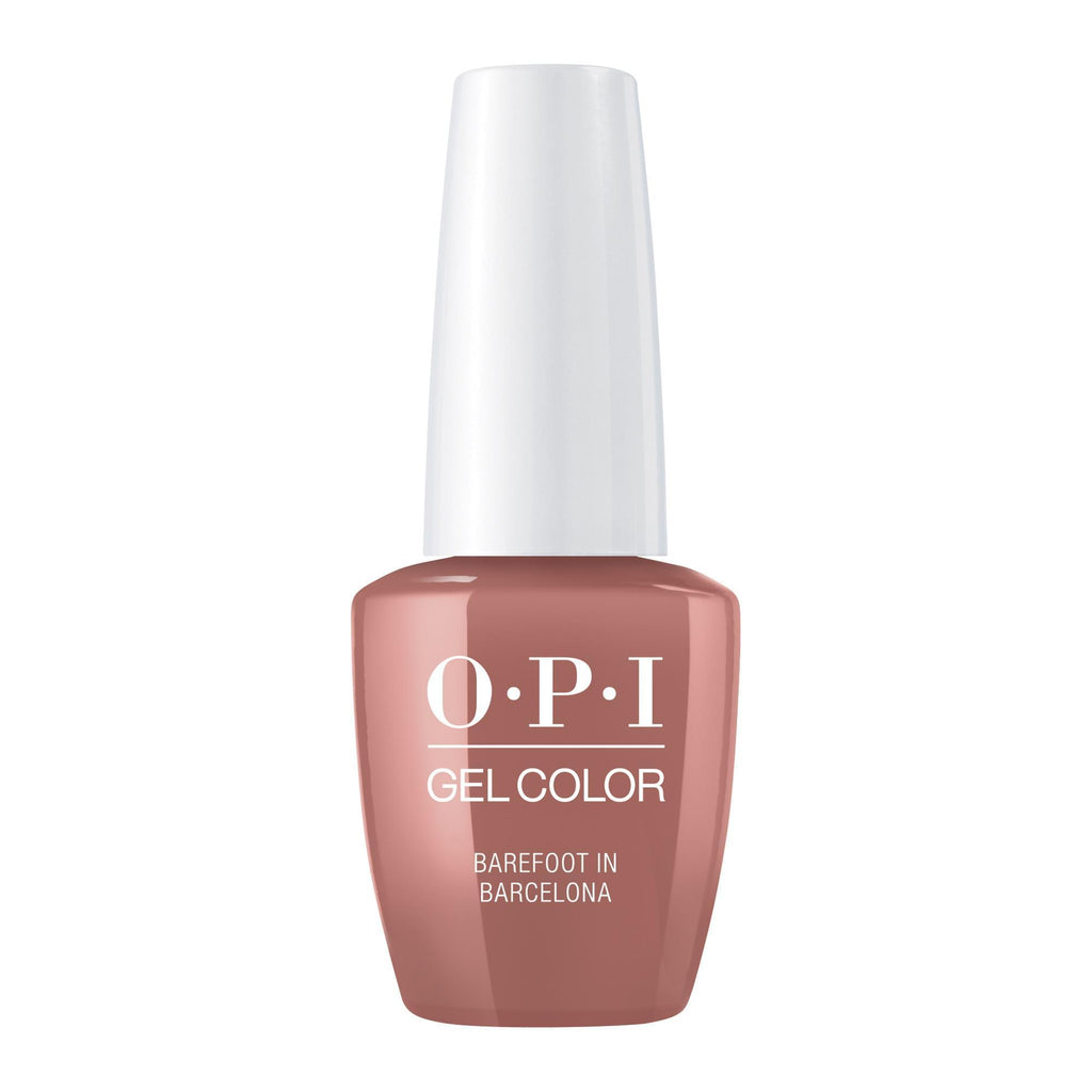 Gel Lacquer OPI Barefoot In Barcelona Gel