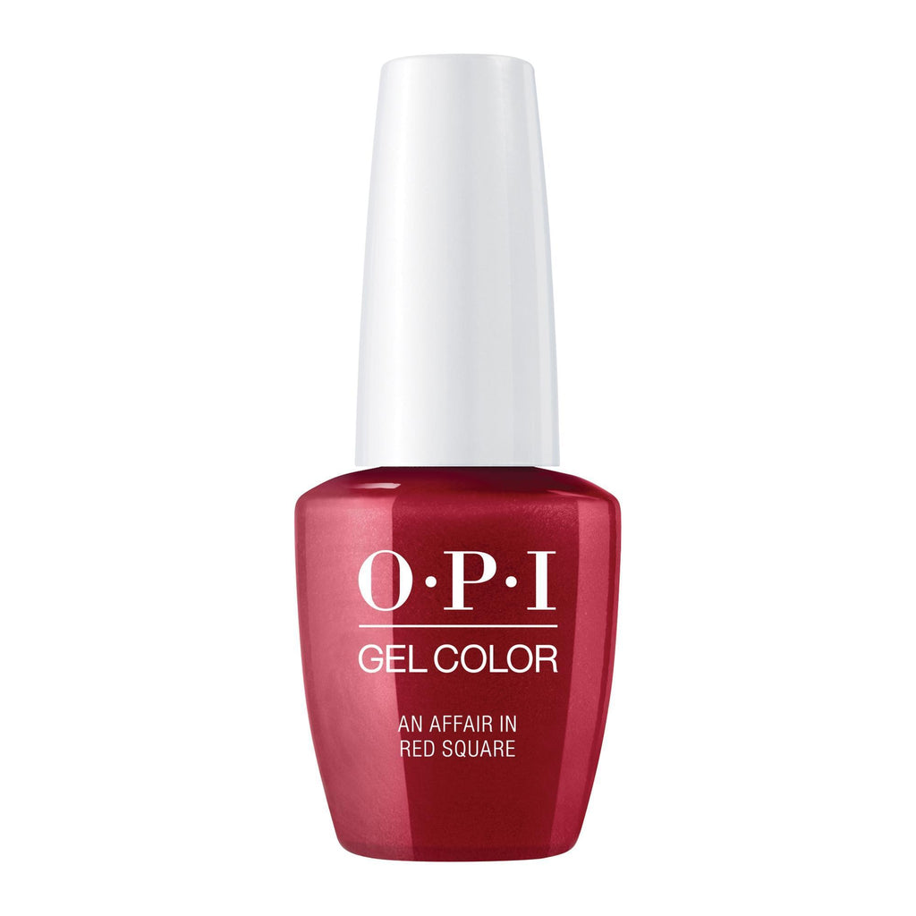 Gel Lacquer OPI An Affair In Red Square Gel