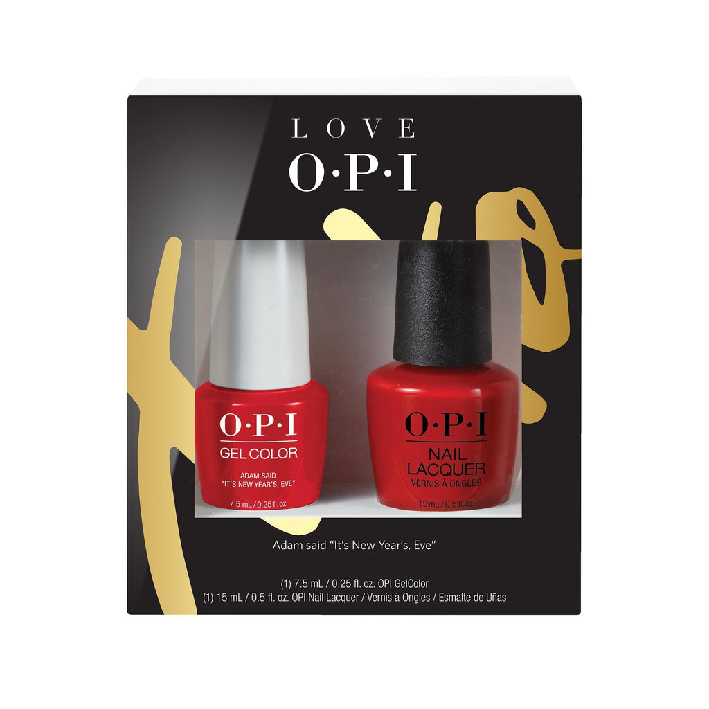 Gel Lacquer OPI Gel Color 7.5 ml & Lacquer Duo Pack # 1