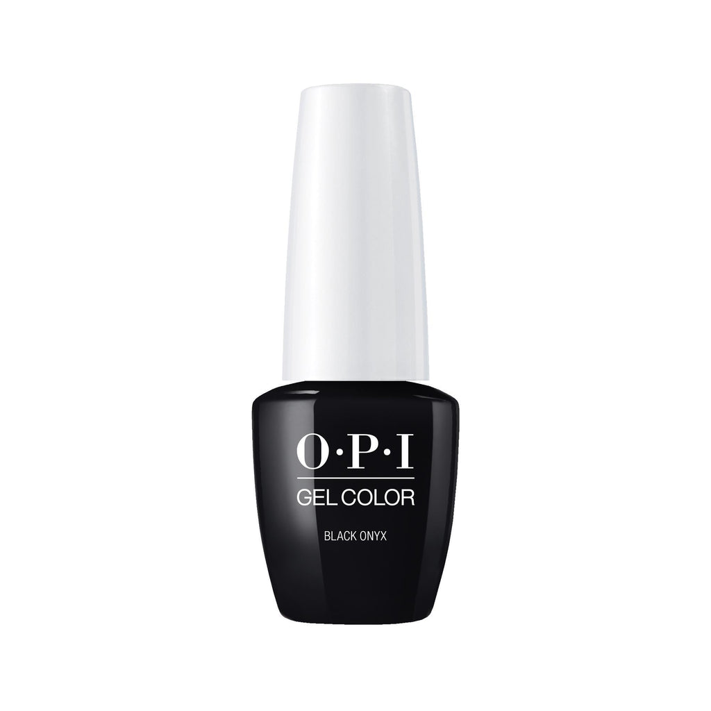 Gel Lacquer OPI Black Onyx GelColor 0.25 Fl. Oz.
