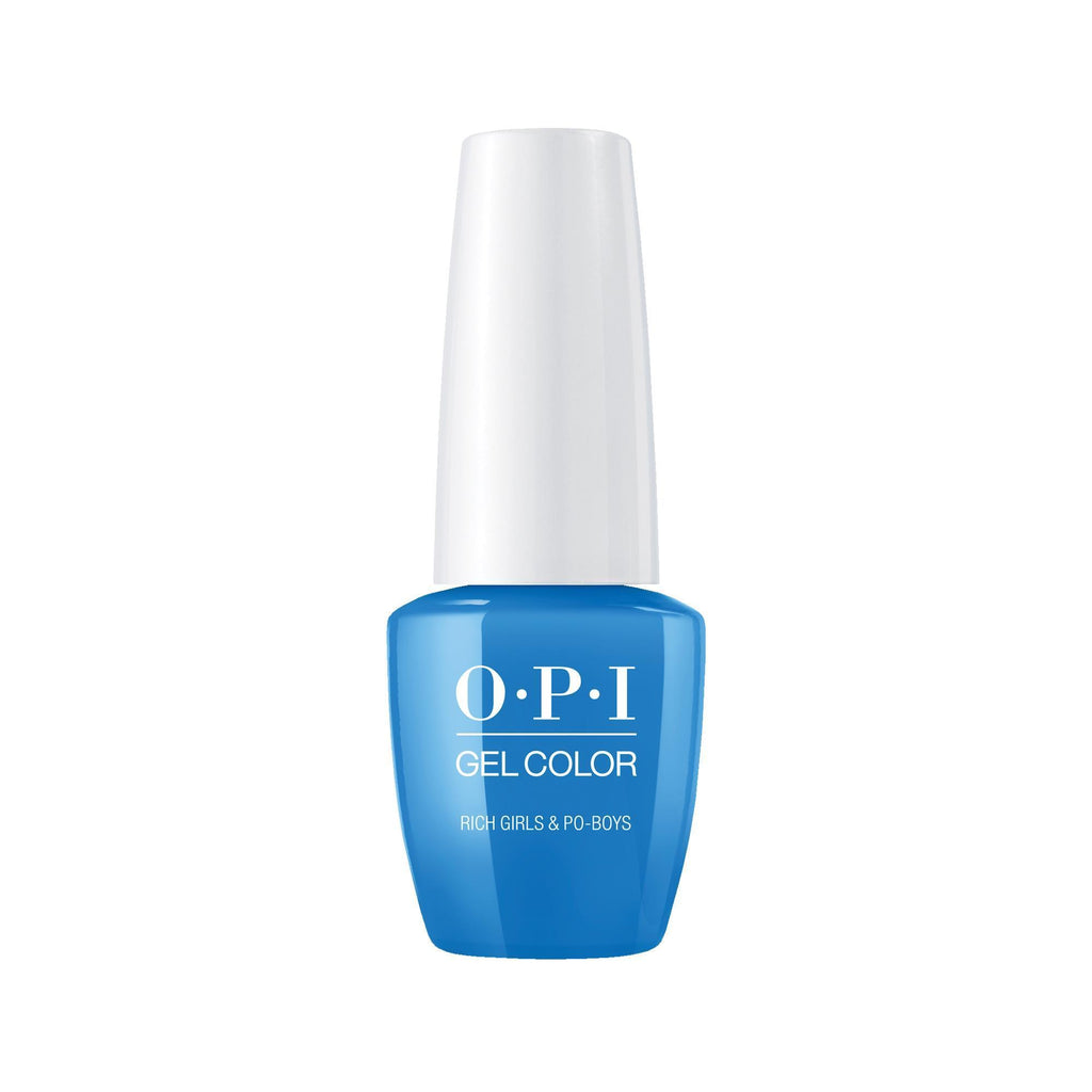 Gel Lacquer OPI Rich Girls & Po-boys GelColor 0.25 Fl. Oz.