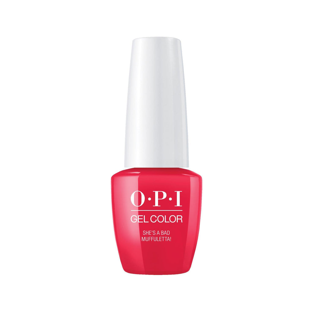 Gel Lacquer OPI She's a Bad Muffaleta GelColor 0.25 Fl. Oz.