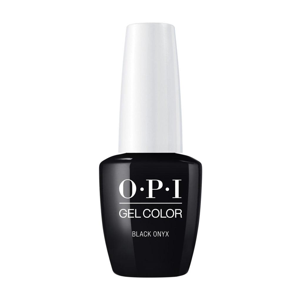 Gel Lacquer OPI Black Onyx GelColor