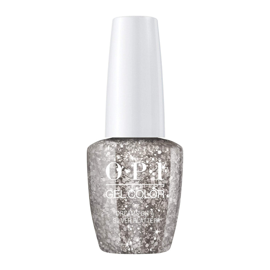 Gel Lacquer OPI Dreams on a Silver Platter Gel
